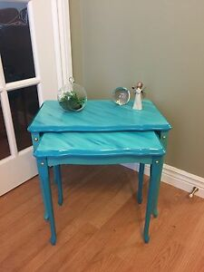 Set of 2 Restyled Nesting Tables