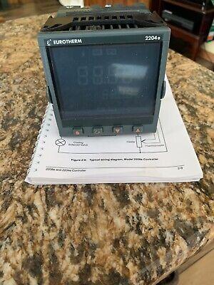 Eurotherm 2204eccvhtutwxxxxxx Temperature Controller New In Box