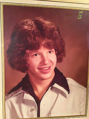 class of 78 senior picture photo dorky advertising 70's fashion real people USA