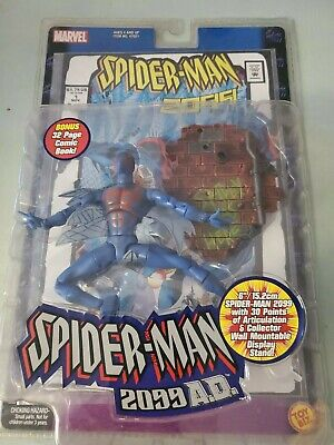 Spider-Man 2099 Toybiz 2001. Spider-Man  #1 Comic White Variant. Mint NM Package
