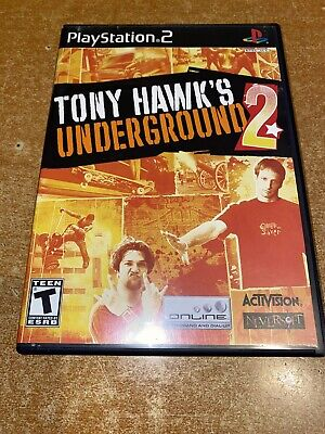 Tony Hawk's Underground 2 (Pro Skater) : PlayStation 2 (PS2) Complete