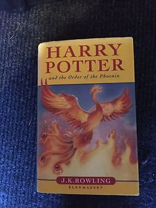 Harry Potter and the order of the Phoenix hard cover