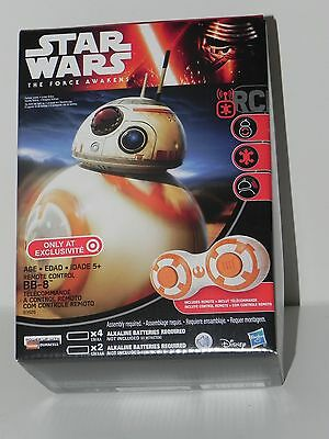 STAR WARS FORCE AWAKENS HASBRO BB-8 REMOTE CONTROL DROID TARGET EXCLUSIVE