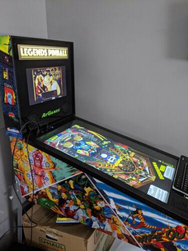 AtGames Legends Virtual Pinball Cabinet Machine