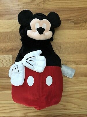 NWT Mickey Mouse Disney Store Plush Halloween Infant / Toddler Costume 6-12m - Mickey Mouse Toddler Halloween Costume
