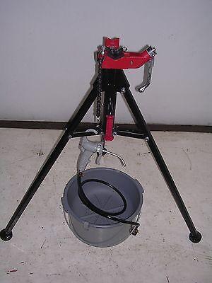 Bucket Oiler Portable Tri-stand Ridgid 300 600 700 535 1822 Pipe Threaders