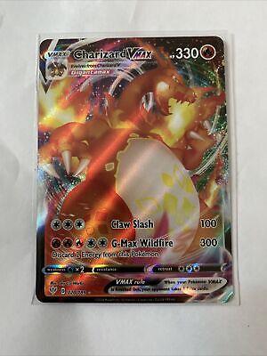 Charizard VMAX Darkness Ablaze 20/189 Mint Condition Ultra Rare Pokemon Card