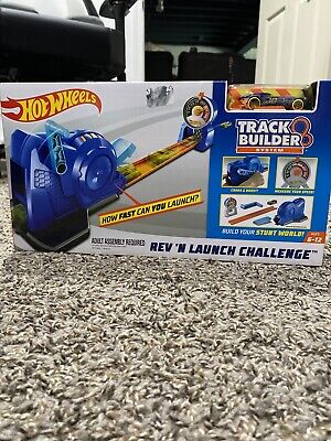 Hot Wheels Rev'N Launch Challenge Track Builder System