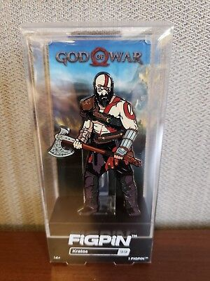 God of War Kratos Figpin #99 Playstation Officially licensed New