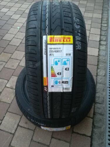 Nagelneue Sommerreifen 225/45R17 91W Pirelli P7 Cinturato  DOT 2019!!!