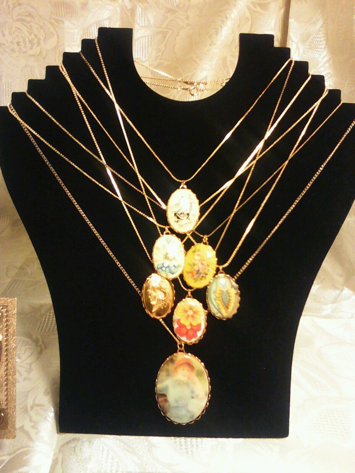 70+Pc.MIXED JEWELRY~LOT! RINGS/Earrings/GEMSTONES&MIXED Necklaces/GOLD$100 USA