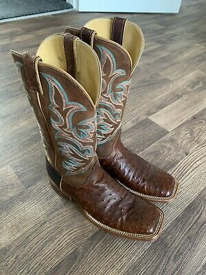 Justin's Cowboy Boots - Ostrich