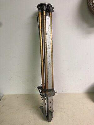 Sokkishasokkia Aluminum Frame Tripod Legs Surveying Adjustable Used Japan