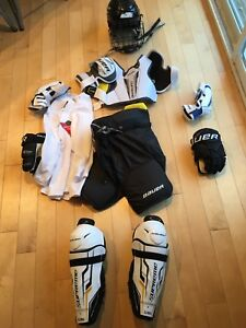 Kids Full Hockey Gear Kit (excludes helmet and skates)