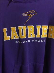 Wilfred Laurier U sweater