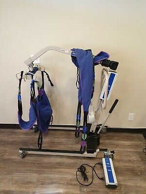 Hoyer Invacare Reliant 450 Electric Advanced Patient Lift 2 Batteries & Charger
