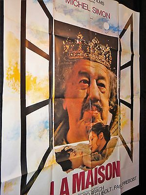 LA MAISON michel simon   affiche cinema 1970