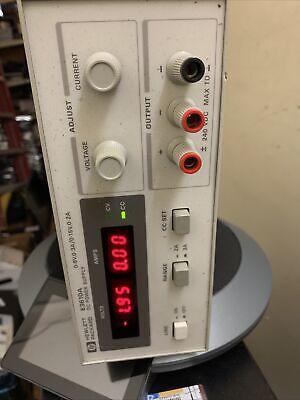 Hp Agilent Keysight E3610a Dc Power Supply 0-8v3a 0-15v2a