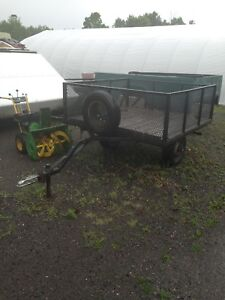 Homemade 6' x 6' Caged Utility Trailer $600. OBO