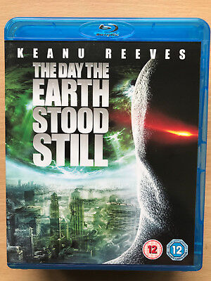 Keanu Reeves DAY THE EARTH STOOD STILL ~ 2008 Sci-Fi Remake Used UK