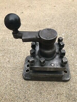 4 Four Way Square Lathe Turret Tool Post Holder