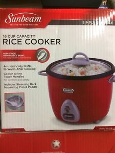 Rice Cooker - 16 Cup (NEW IN BOX)