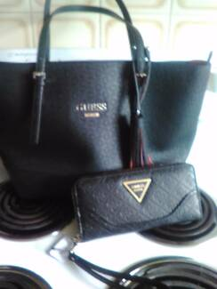 Genuine guess bag and wallet set