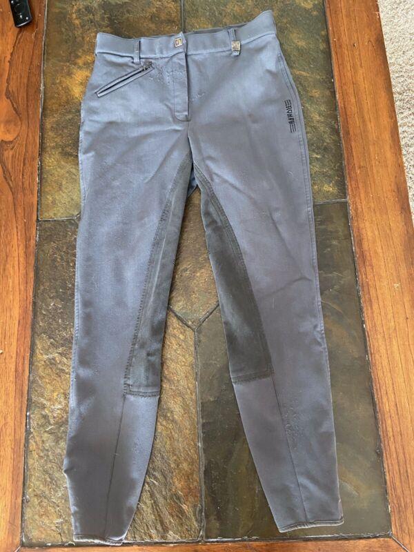 ROMFH Equestrian Grey Full Seat Breeches