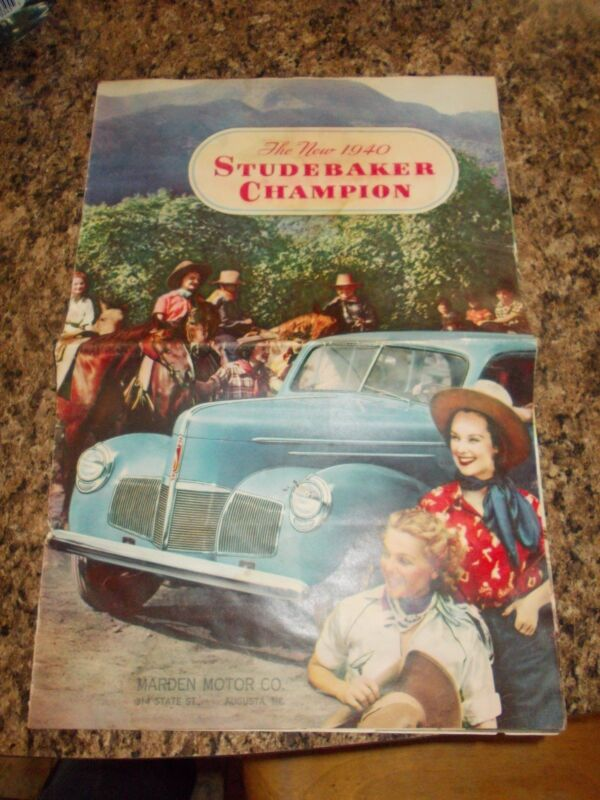 Studebaker Champion Brochure 1940