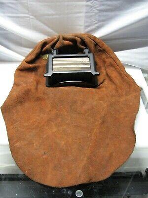 Fibre Metal Leather Lift Front Welding Hood