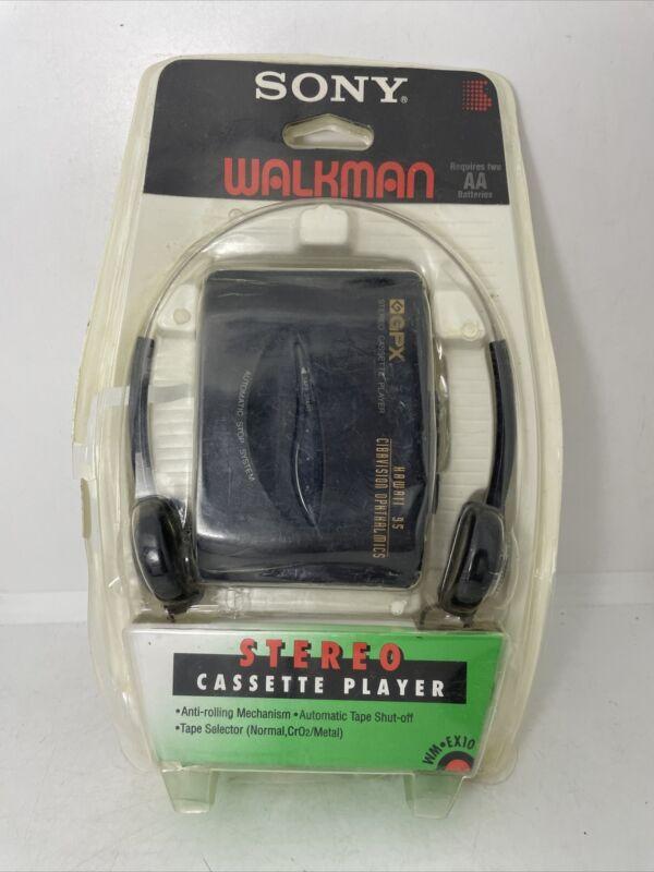 Sony Walkman Stereo Cassette Player WM-EX10 - NEW