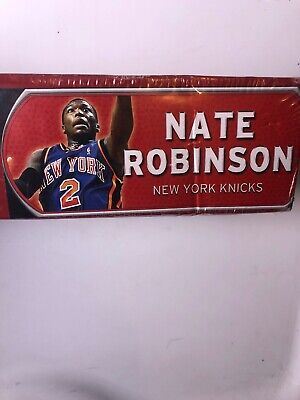 Robinson, New York Knicks (NATE ROBINSON NEW YORK KNICKS Fathead JR. Reuable Vinyl Graphics )