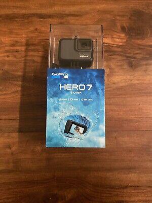 GoPro HERO7 10 MP Waterproof 4K 30 Camera Camcorder Silver CDN SELLER