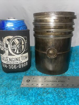 Piston And Rings For 1 34 Hp United Associated Hit Miss Gas Engine