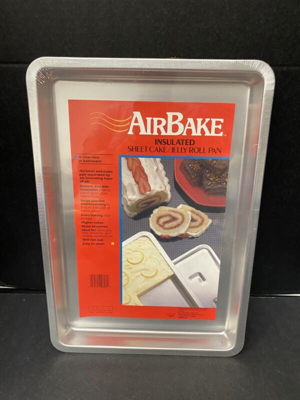 Rema Bakeware AirBake Jelly Roll Pan Sheet Cake Insulated SEALED