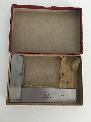 Starrett No. 20 Solid Steel Machinist Square 4.5 Precision