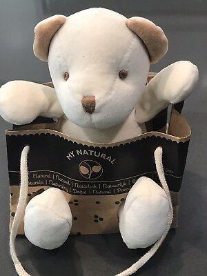 New Miyim miYim Simply Organic Plush Toy, My Natural Bear