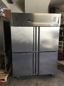 Stainless steel commercial freezer 4 door Mitchel Refrigeration Carlton Kogarah Area Preview