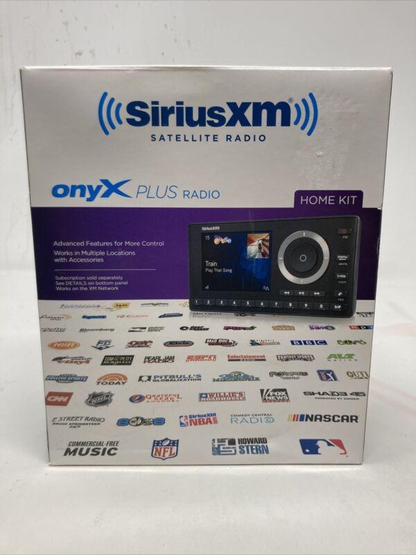 NEW SiriusXM SXPL1H1 Onyx Plus Satellite Radio with Home Kit