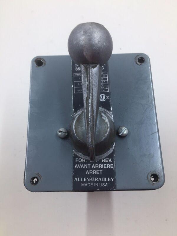 Allen-Bradley 350-TAV34 Drum Switch Series C