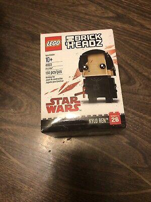 LEGO BrickHeadz DISNEY Star Wars Kyle Ren #41603 Building Toy / COLLECTABLE NIB