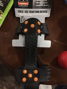 Shoe grips for ice an everything stops you from falling