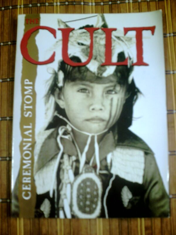 The Cult Concert Tour Program 1991 Ceremonial Stomp Ian Astbury