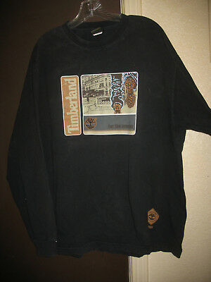 """Timberland """"For The Journey - 2001"""" Long Sleeve T-Shirt Size XL 100% Cotton"""