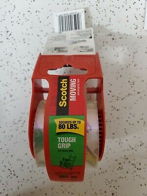 Scotch- Tough Grip. Super HD -Moving and Packing Tape, 1.88