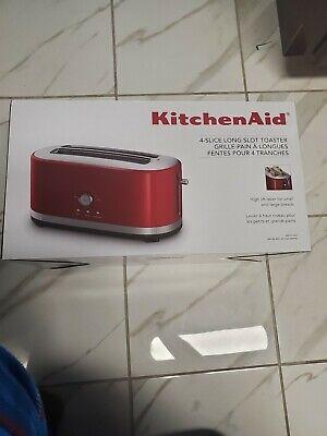 BRAND NEW Kitchen Aid KMT4116ER 4-slice toaster long Slots.