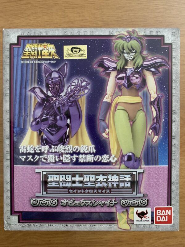 New Bandai Saint Seiya Cloth Myth Ophiuchus Shaina action figure