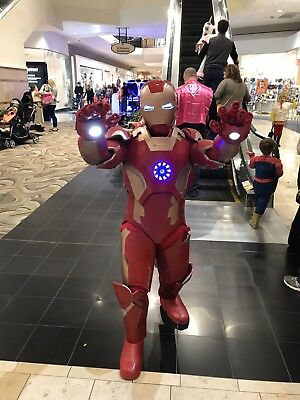 JEFF SPECIAL LISTING PAINT MY COSTUME!!   Iron Man All Marks STAR WARS Adult](Adult Ironman Suit)