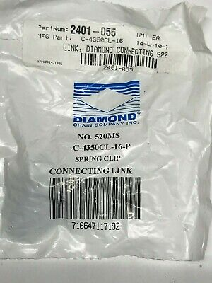 Harley-Davidson Diamond Rear Chain Connecting Link C-4350CL-16-P Harley XR750 -