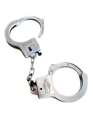 2x Plastik Handschellen für Kinder Kostüm Zubehör Polizei Fasching - Polizei Kostüm Zubehör